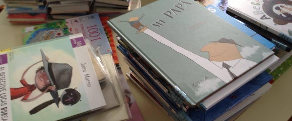 ¡¡Lluvia de libros nuevos en la Biblioteca!!