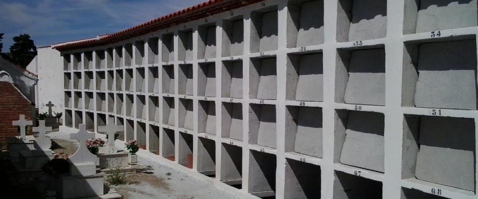 Ampliado el cementerio con 86 nuevos nichos