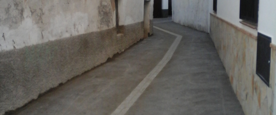 Obras de mejora y arreglo de varias calles