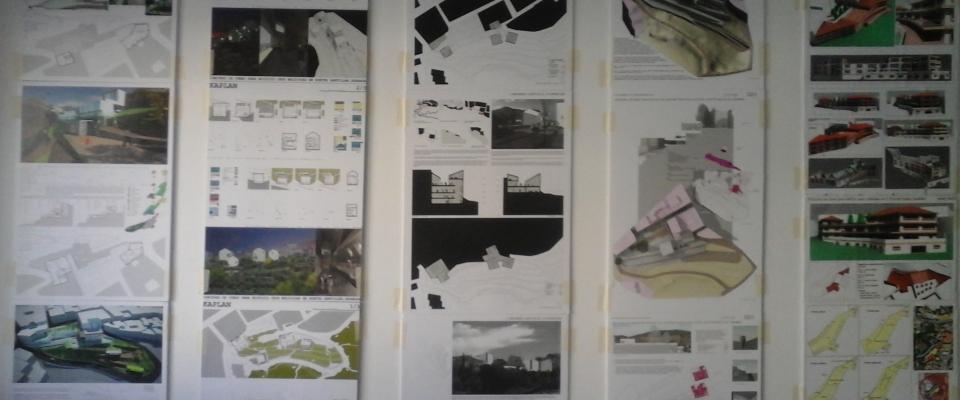 La exposición del concurso de ideas para el edificio de usos múltiples se traslada al Colegio de Arquitectos