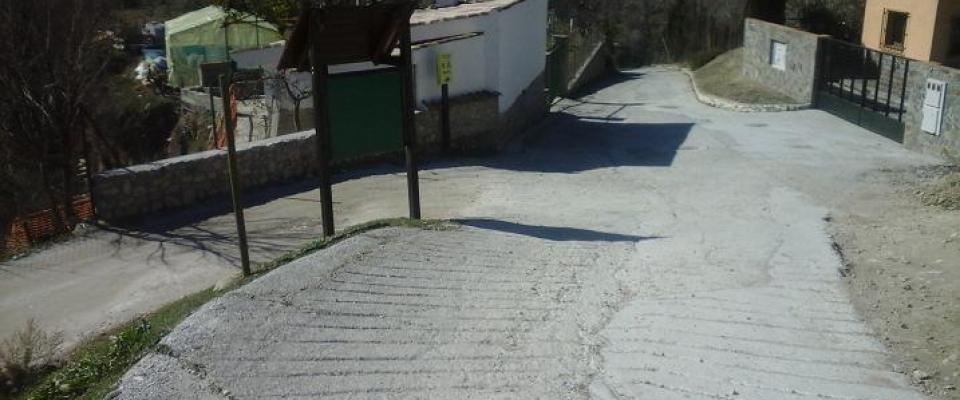 Otros tres pequeños tramos de calles serán arreglados próximamente