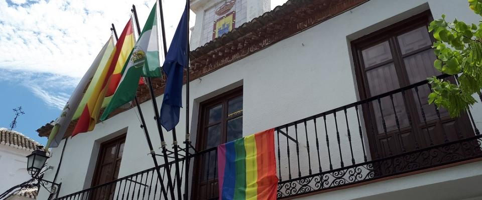 El Ayuntamiento manifiesta su apoyo a la celebración del día del colectivo L.G.T.B.I.