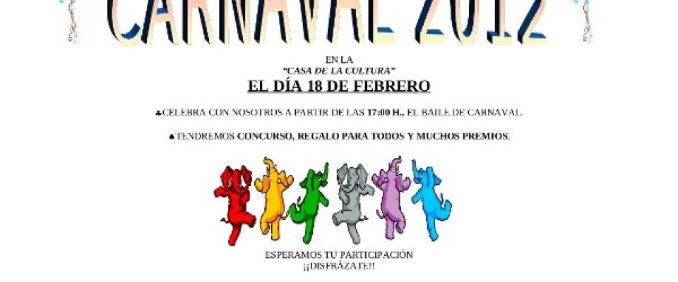 Carnaval 2012. Casa de la Cultura