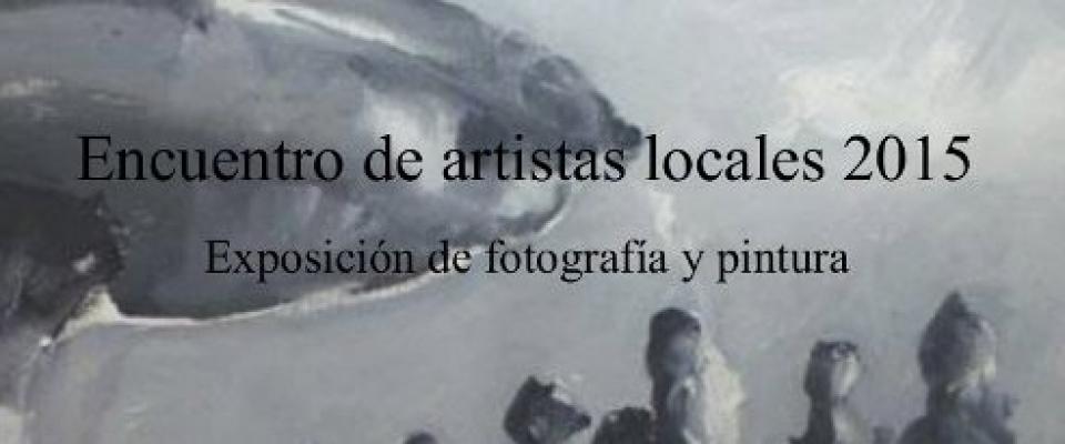 Inauguración de la exposición de fotografía y de pintura