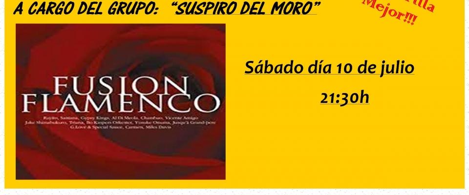 Concierto en vivo en Huétor Santillán el sábado 10 de julio