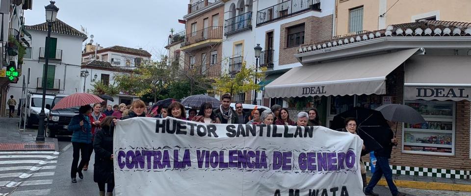 Actividades por el Día Internacional contra la violencia hacia las mujeres