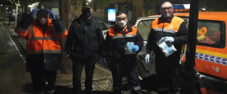 Intensa mañana de trabajo de Protección Civil del Ayuntamiento de Huétor Santillán