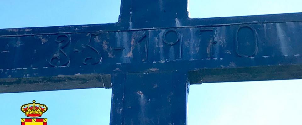 La cruz de Huétor Santillán cumple 50 años