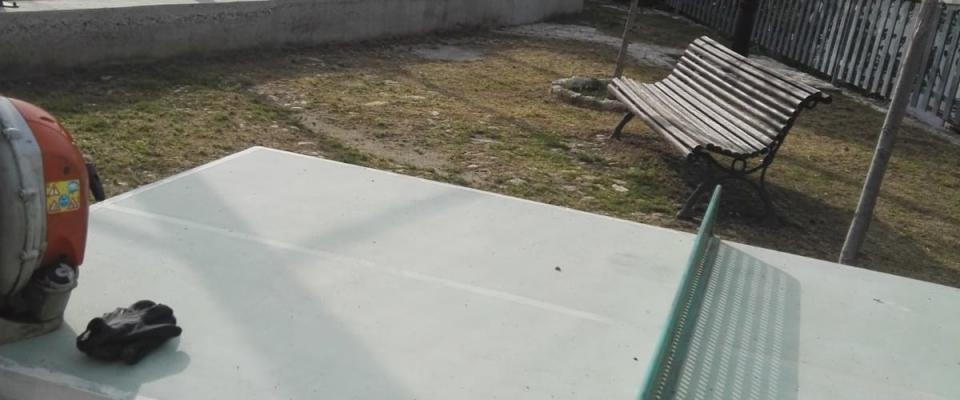 Limpieza y acondicionamiento de la era de Huétor Santillán