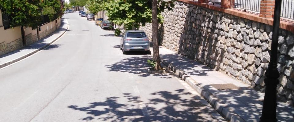 Limpieza de calles en la Sotanilla
