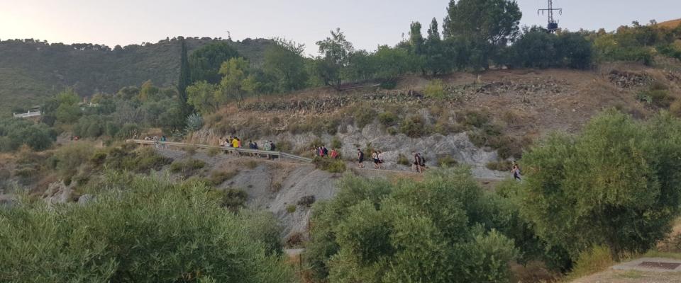 Salida de senderismo en Huétor Santillán