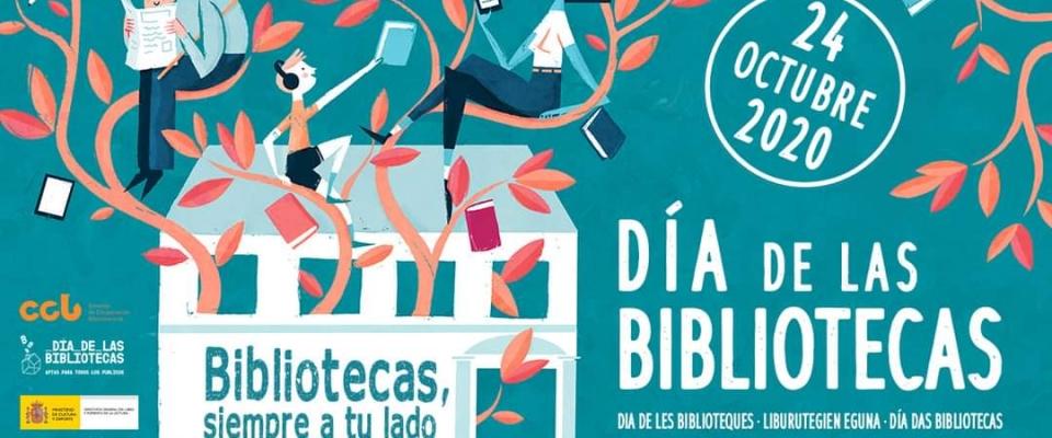 El 24 de octubre se celebra el Día de la Biblioteca