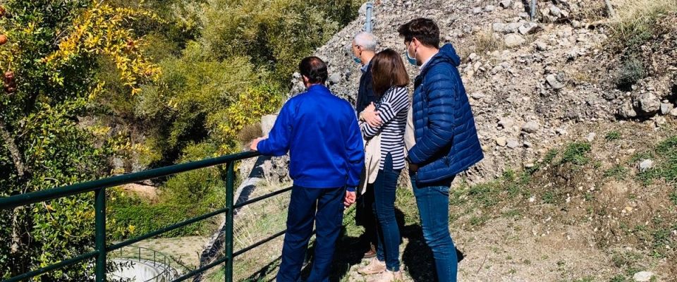 Visita de los técnicos de la Junta de Andalucia al E.D.A.R de nuestro municipio