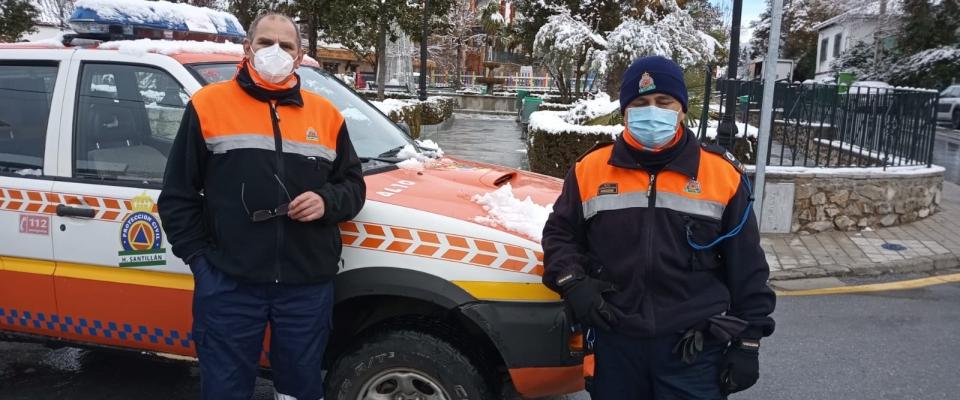 Protección Civil de Huétor Santillán atentos al estado actual de nuestro municipio