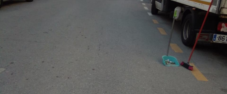Día de Andalucía, también se limpian las calles de Huétor