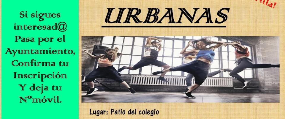 Danzas urbanas en Huétor Santillán