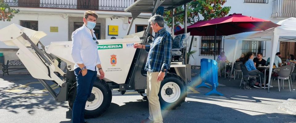 El Ayuntamiento de Huétor Santillán adquiere un nuevo dumper