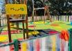 Obras para la instalación de otro parque infantil en la Casería