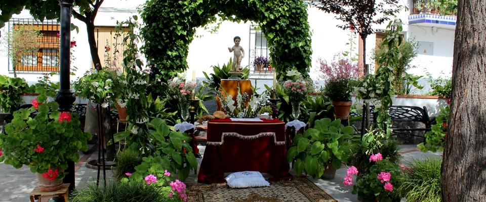 Las fotografías de los altares del Corpus 2014