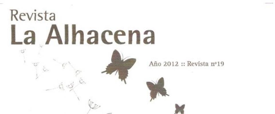 """El centro cultural presenta la revista """"La Alhacena"""""""