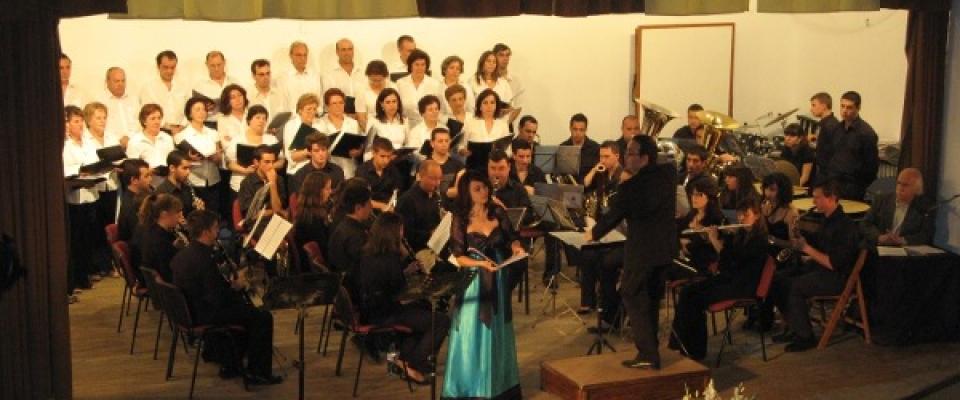 Programación de la banda municipal en la temporada 2011/2012