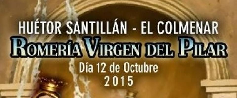 Romería Virgen del Pilar Huétor Santillán – El Colmenar (12 octubre)