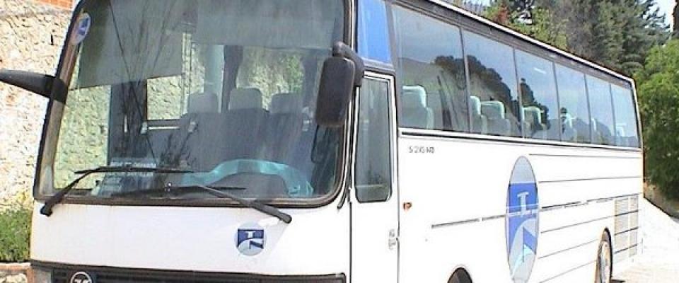 Se restablece el antiguo horario de autobuses