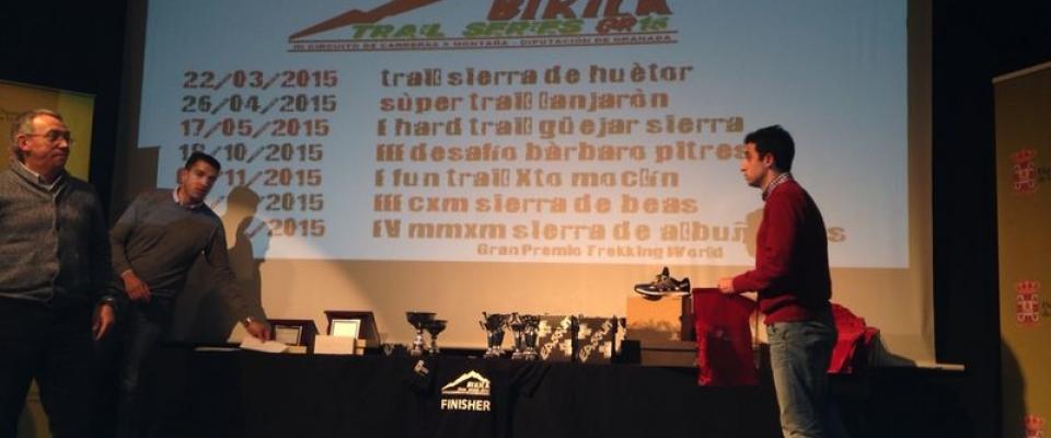 El circuito provincial de carreras de montaña comenzará el 22 de marzo con el II Trail Sierra de Huétor