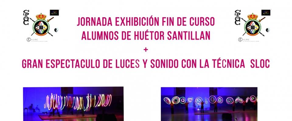 Exhibición fin de curso y espectáculo de luz y sonido