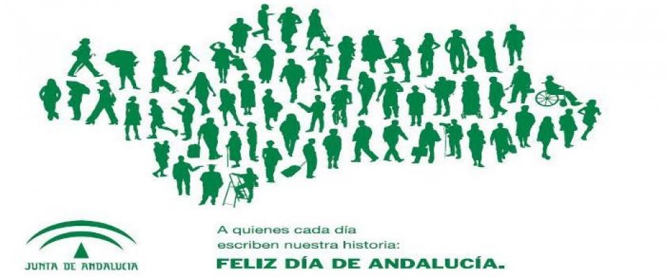 Gran participación en los actos del Día de Andalucía