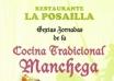 Sexta jornadas de Cocina Tradicional Manchega en la Posailla