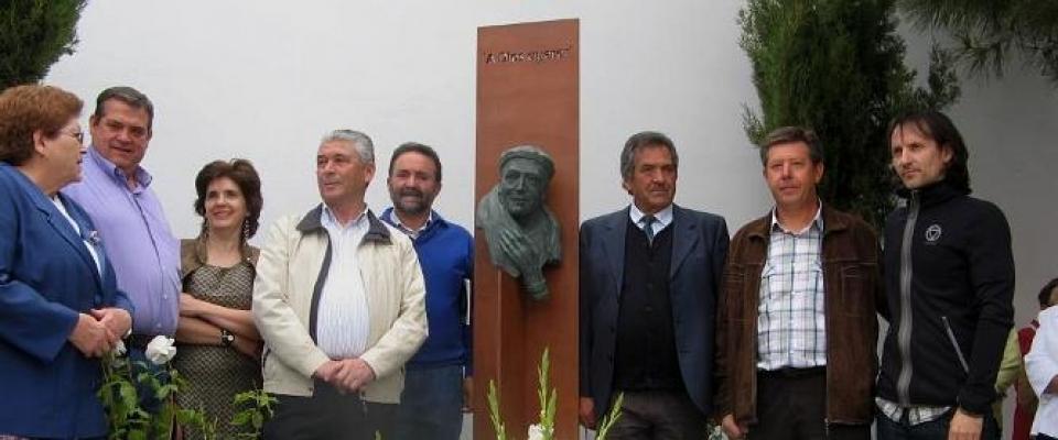 Inauguración del monumento a Manuel Rubio Sánchez