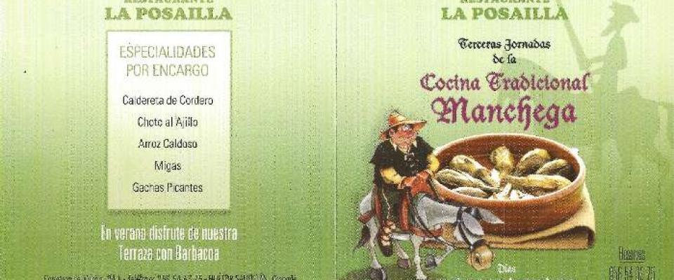 III Jornada de cocina tradicional manchega