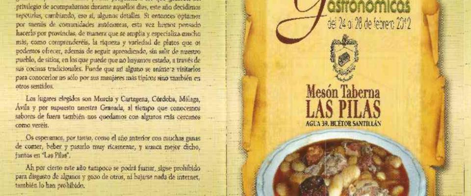 """II Jornadas Gastronómicas """"Las Pilas"""""""