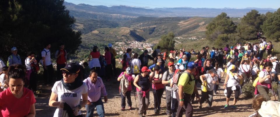 Éxito del II Encuentro Provincial de Senderismo