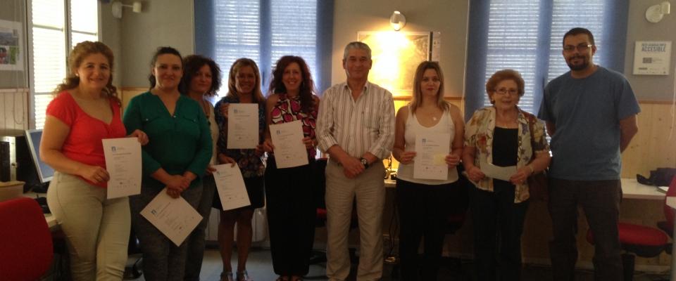 Fin de curso Iniciación a las TICS en Guadalinfo