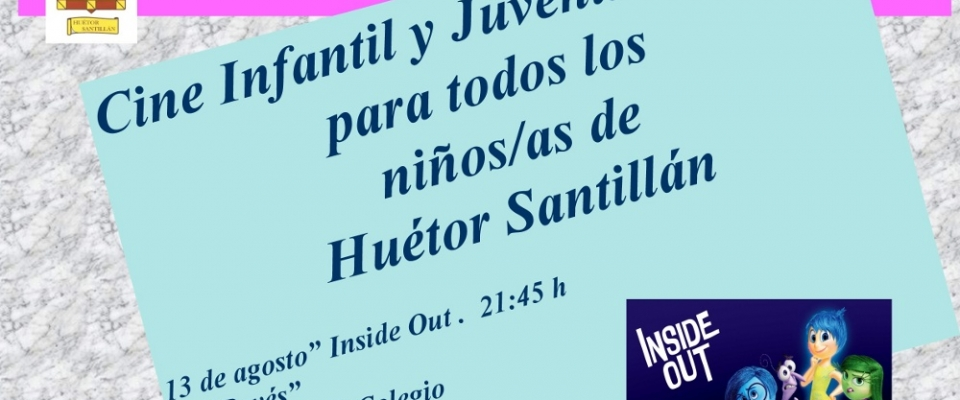 Cine infantil y juvenil en Huétor Santillán