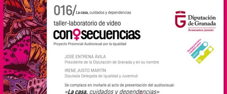 Taller-laboratorio CONSECUENCIAS. Proyecto audiovisual por la Igualdad.