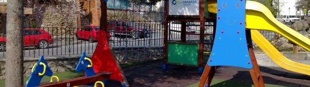Más columpios para el Parque Infantil.