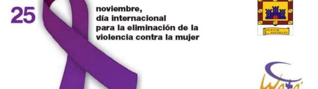 25 de noviembre: concentración en contra de la violencia de género