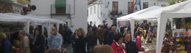 Feria artesanal del 28 de febrero (Día de Andalucía)