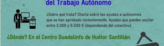 Charla sobre ayudas para autónomos en Guadalinfo Huétor Santillán