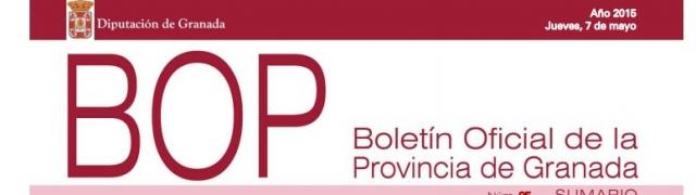 Edicto en el Boletín Oficial de la Provincia sobre quesería