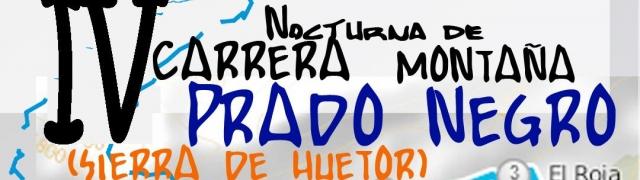 El próximo 4 de julio de celebra la IV carrera nocturna de Prado Negro