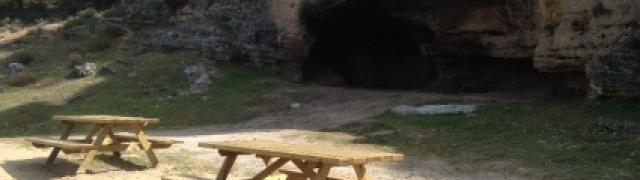 Ya está acabado el merendero de la Cueva del Señor y el Mirador de la Cruz Baja