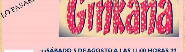 Ginkana en Huétor Santillán el próximo 5 de agosto