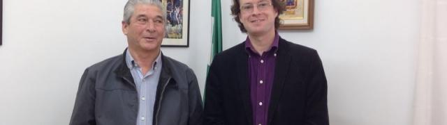 Huétor pide colaboración al delegado de Obras Públicas, Transporte y Turismo para solucionar varios problemas