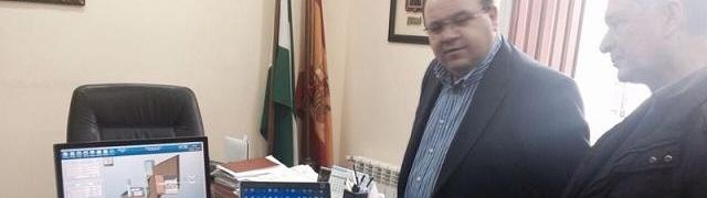 El Vicepresidente de Diputación visita la marcha de obras de mejora en redes de abastecimiento de aguas