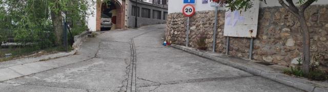 Limpieza de calles desde los jardines hasta la Posailla