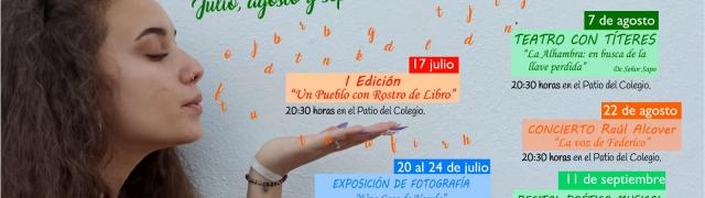 Actividades culturales verano 2020